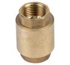 "Клапан зворотний F1/2""xF1/2"" (латунь) euro 130г AQUATICA (779650)"