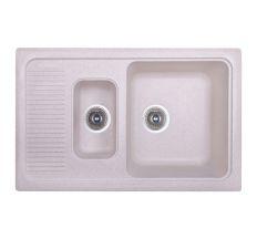 Кухонна мийка Fosto 7749 kolor 800 з доп чашею (FOS7749SGA800)