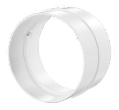 Соединитель каналов круг. 100мм арт 111
