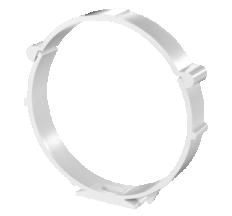 Держатель каналов круг. 100мм арт16