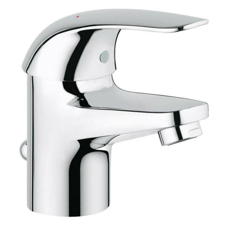 Набор смесителей для ванны 3в1 Grohe Euroeco 123226S - 4