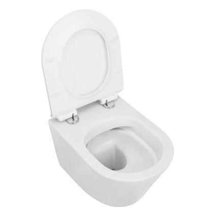 NEMO сидіння для унітазу тверде Slim слоу-клоуз метал крепл. (ісп) - 3