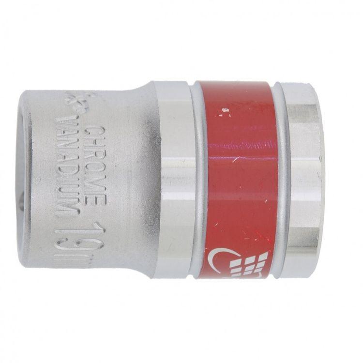 """Головка торцева, 17 мм, 12-гранна, CrV, під квадрат 1/2"""", хромована MTX MASTER 136909 - 1"""