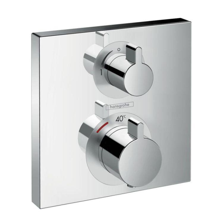 Ecostat Square Термостат для ванны, на 2 потребителя - 1