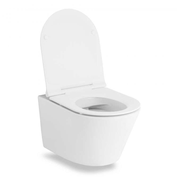 NEMO сидіння для унітазу тверде Slim слоу-клоуз метал крепл. (ісп) - 2
