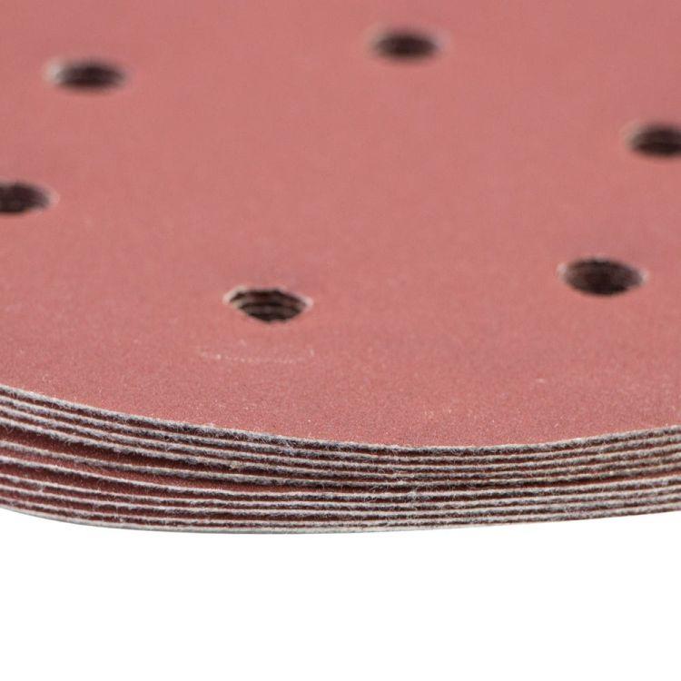 Шлифовальный круг 6 отверстий Ø150мм P320 (10шт) Sigma (9122331) - 4