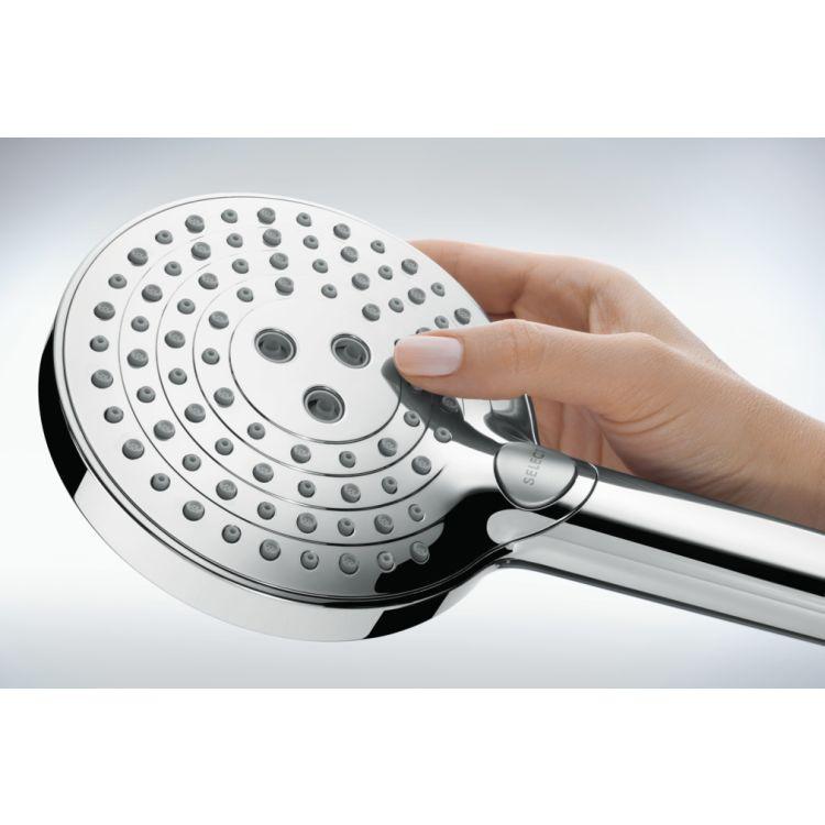 Raindance Select S Ручний душ 120 3jet P, з типом розпилення: PowderRain, Rain, WhirlAir - 3