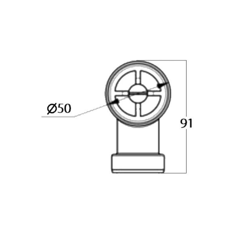Перелив для сифону Fosto - 2