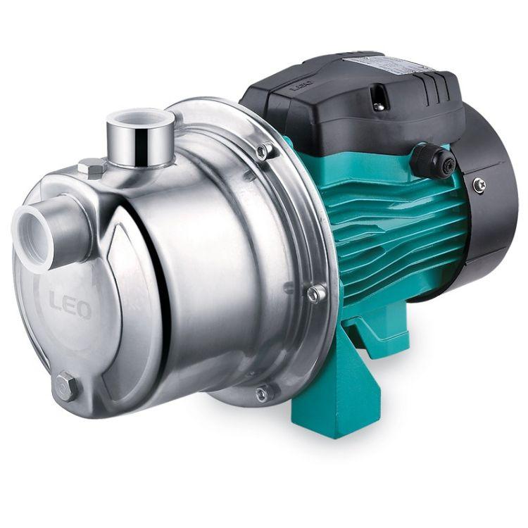 Насос відцентровий самовсмоктуючий 0.6 кВт Hmax 43м Qmax 47л /хв (нерж) LEO 3.0 (775353) - 1