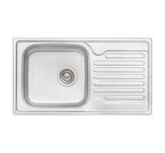 Кухонна мийка Qtap 7843 dekor 0,8 мм (QT7843MICDEC08)