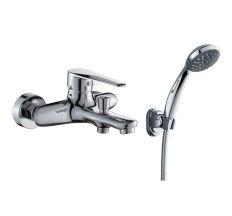 TULIP смеситель для ванны однорычажный, хром 35 мм