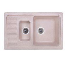 Кухонна мийка Fosto 7749 kolor 806 з доп чашею (FOS7749SGA806)