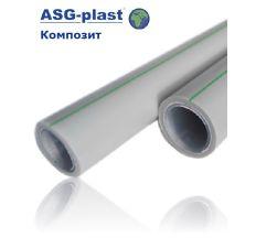 труба ASG Nano Ag композит 25х4.2