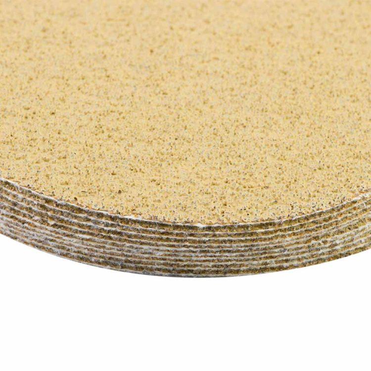 Шлифовальный круг без отверстий Ø125мм Gold P40 (10шт) Sigma (9120031) - 4