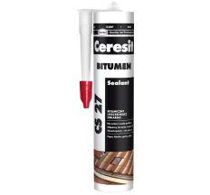 Герметик Ceresit бітумний 300 мл чорний CS27