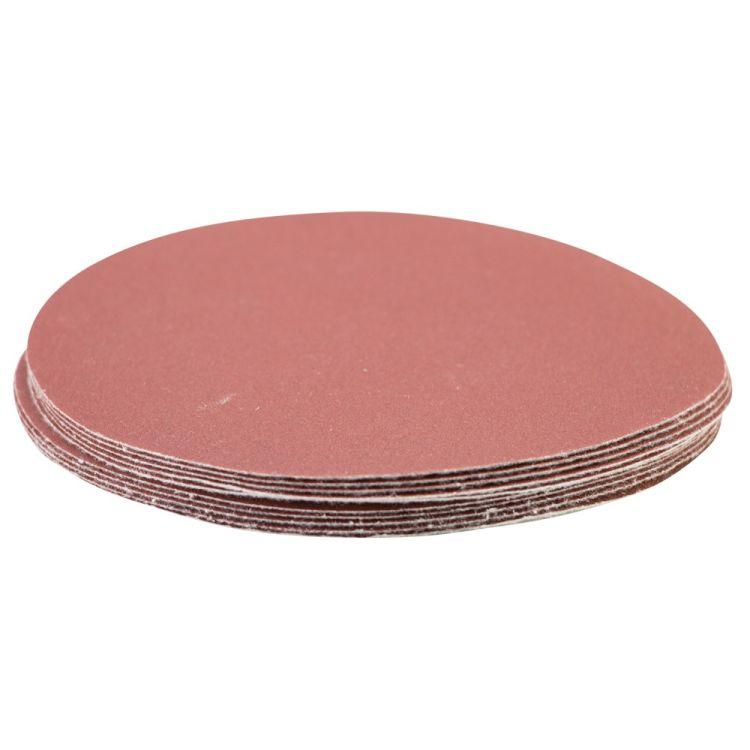 Шлифовальный круг без отверстий Ø125мм P320 (10шт) Sigma (9121181) - 3