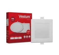Светильник LED врезной квадратный Vestum 9W 4000K 220V