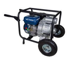 Мотопомпа 7.5л.с. Hmax 26м Qmax 60м³/ч (4-х тактный) для грязной воды WETRON (772557)