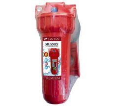 """Фільтр для очищення води SANTAN Musson 3PS, 1"""" гаряча вода (корпус+кріплення і ключ) РР, ПЕ упак."""