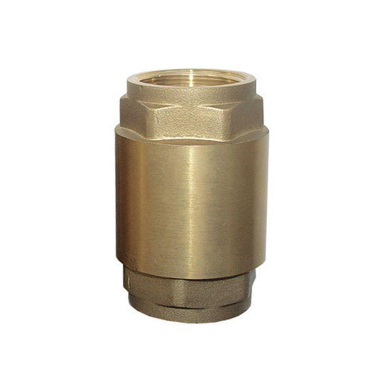 """779654 Клапан обратный 1""""Fx1""""F (латунь) euro ВВ - 1"""