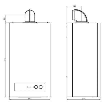 Котел газовий Airfel DigiFEL DUO 24 кВт - 2