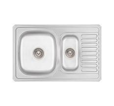 Кухонна мийка Lidz 7850 Micro Decor 0,8 мм (LIDZ7850MDEC)