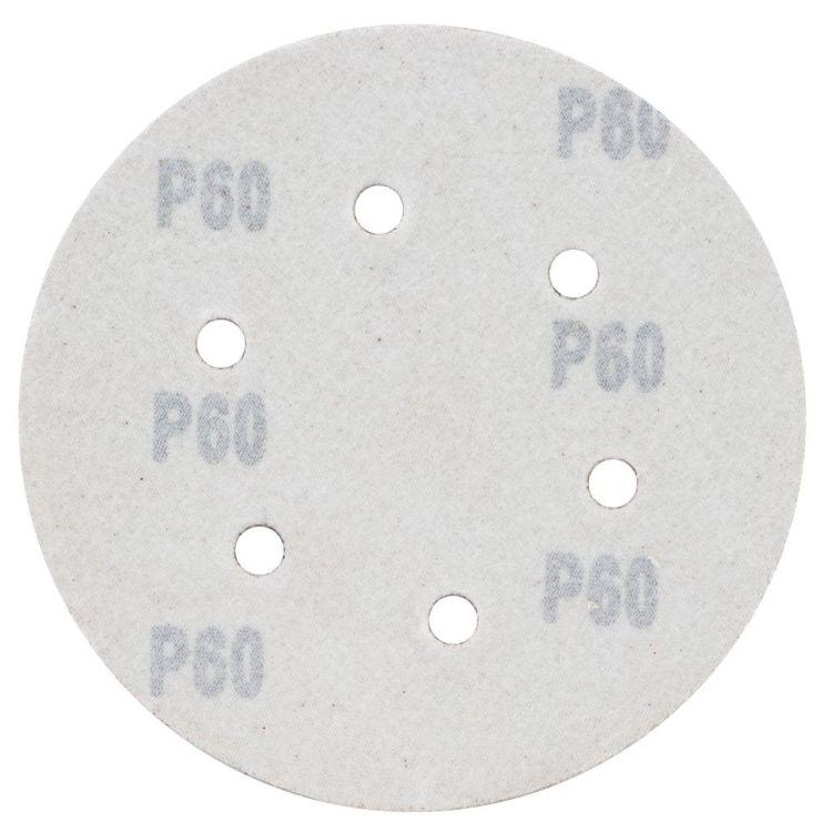 Шлифовальный круг 6 отверстий Ø150мм P60 (10шт) Sigma (9122241) - 2
