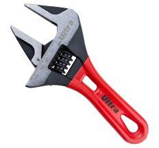 Ключ розвідний з тонкими губами укорочений 190мм, 0-46мм CrV Ultra (4100242)
