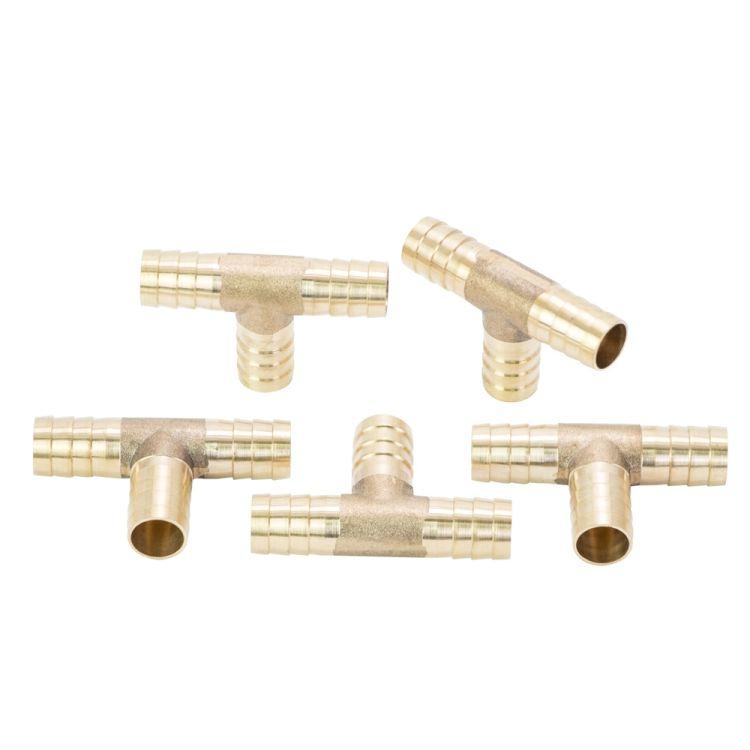 Соединение для шланга T 12мм (латунь) Sigma (7024251) - 2