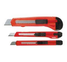 Набор ножей, выдвижные лезвия, 9-9-18 мм, 3 шт. MTX 789859