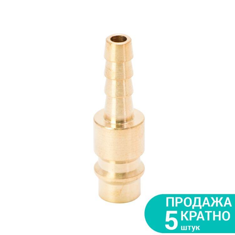 Штуцер для шланга 6мм (латунь) Sigma (7022571) - 1