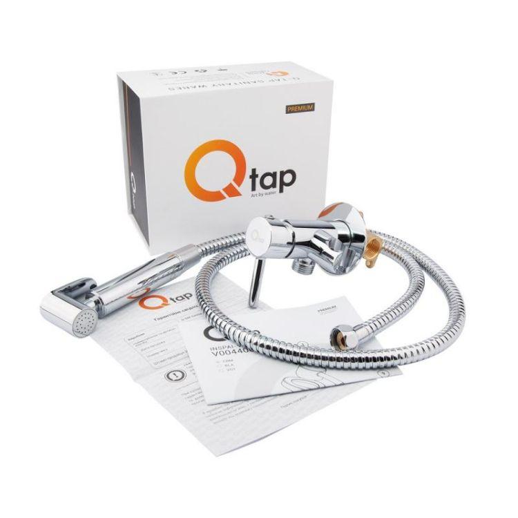 Комплект Qtap інсталяція Nest QTNESTM425M11CRM + унітаз з сидінням Swan QT16335178W + набір для гігієнічного душу зі змішувачем Inspai-Varius QTINSVARCRMV00440001 - 11