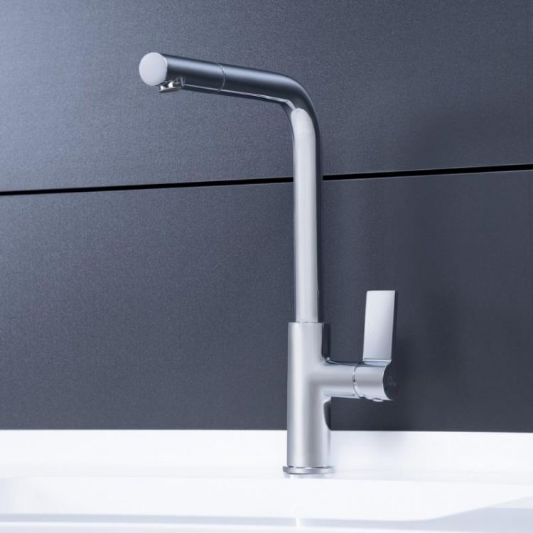 Смеситель для кухни Q-tap Iris CRM 007F - 3