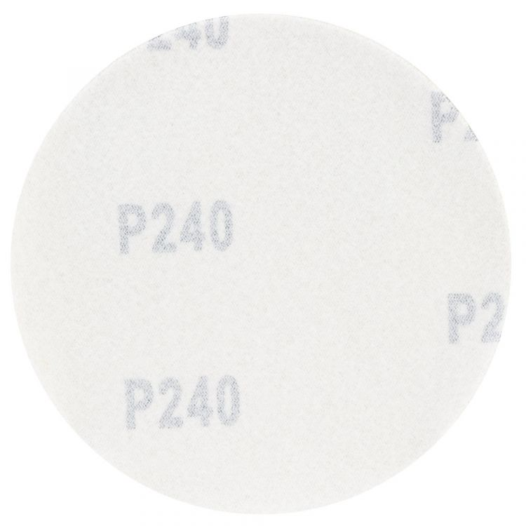 Шлифовальный круг без отверстий Ø125мм Gold P240 (10шт) Sigma (9120111) - 2