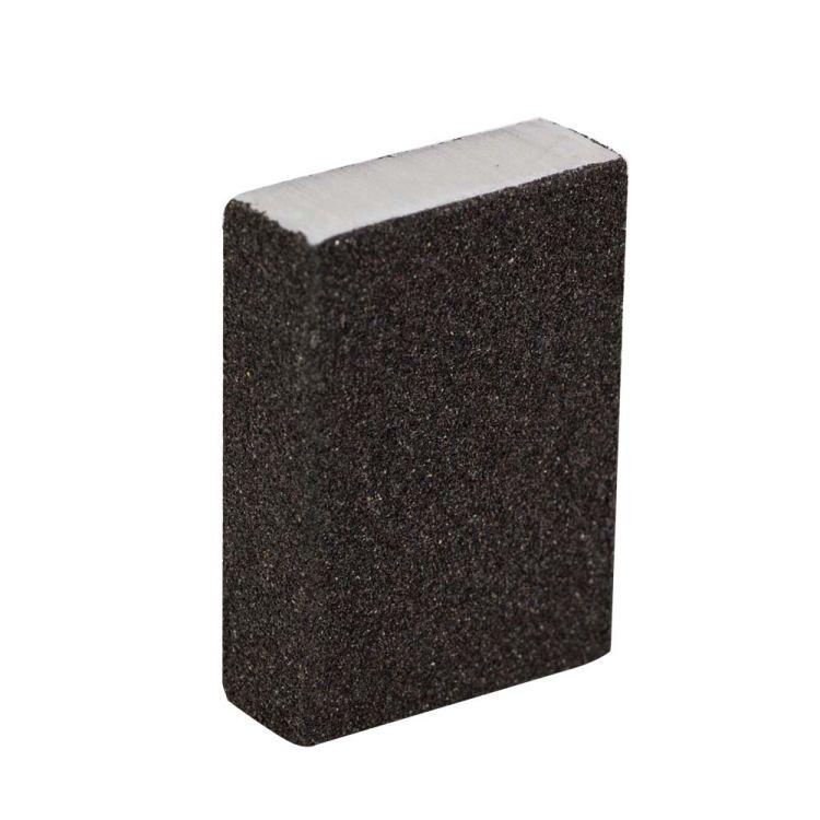 Губка шлифовальная четырехсторонняя 100х70х25мм P80 Sigma (9130651) - 2