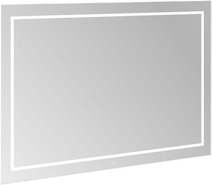 FINION зеркало 120*75*4,5см, с подсветкой, системой Bluetooth, с подогревом - 1