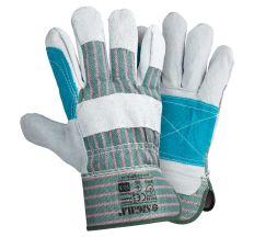 Замшеві рукавички комбіновані р10,5, клас ВС (посилена долоню) Sigma (9448401)