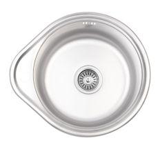 Кухонна мийка Lidz 4843 dekor 0,6 мм (LIDZ4843MDEC06)