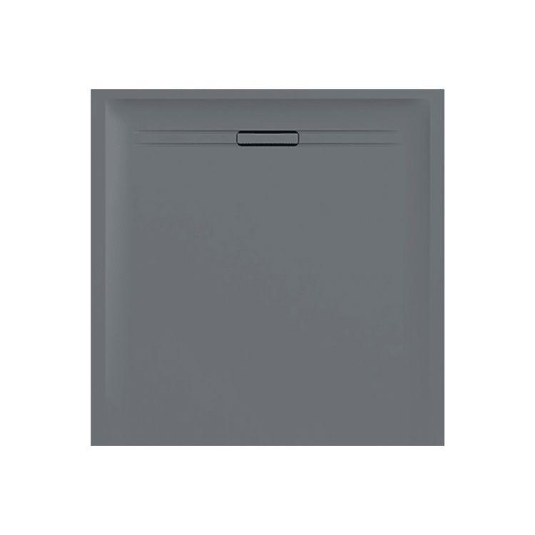 SESTRA душовий піддон 90*90см, квадратний, колір сірий - 1