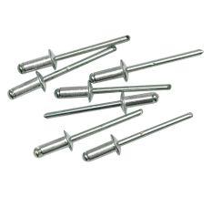 Ниты Vorel алюминиевые 6,4х4,0 мм 50шт 70400