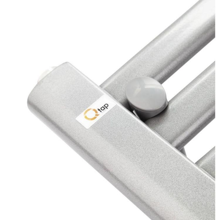 Рушникосушарка водяна Q-tap Dias (SIL) P12 600x500 HY - 14