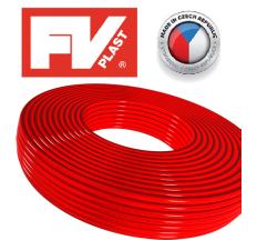 Труба ПОЛІЕТИЛЕНОВА FV THERM 16 PEX (червона)