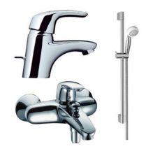 Набор смесителей для ванны Avista (31708000+31748000+26526400) хром 27023000