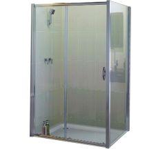 Душевая кабина DEVIT AQUANOS 900х1200х18500 хром, стекло прозрачное без поддона FEN0593