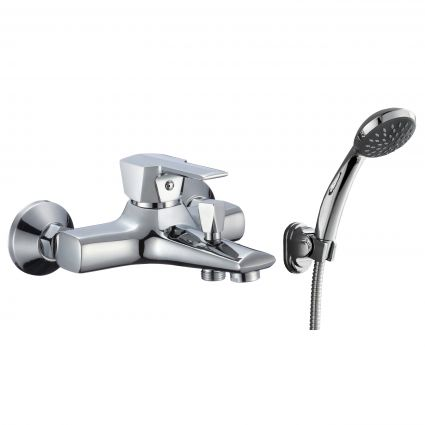 ROCK смеситель для ванны однорычажный, хром 35 мм - 1