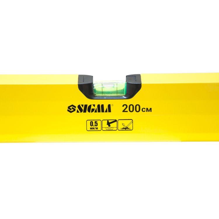 Рівень 3 капсули (посилений) 200см Sigma (3733201) - 3