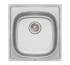Кухонна мийка Qtap 5047 Satin 0,8 мм (QT5047SAT08)
