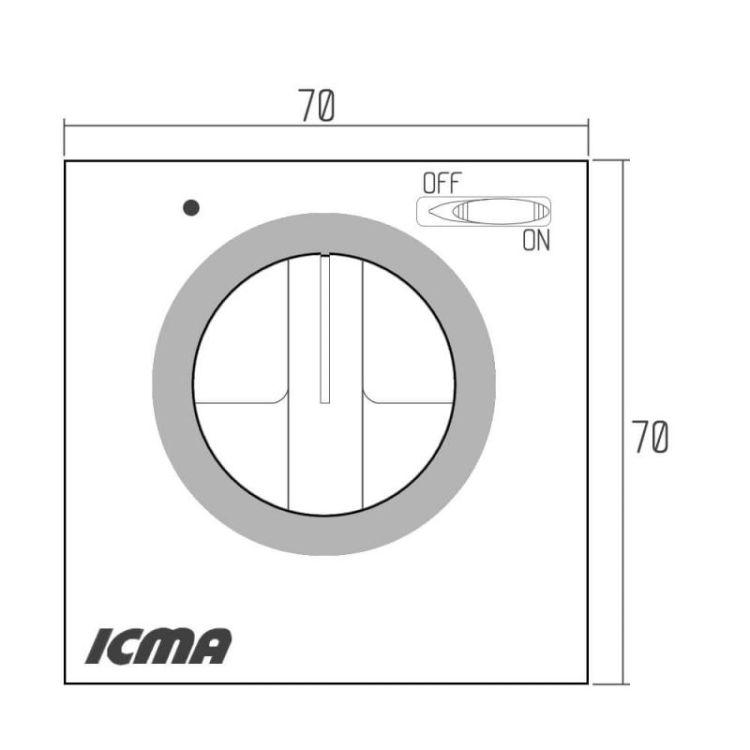 311 Термостат електромеханічний кімнат. 8*С-30*С TM003M0001AN - 2