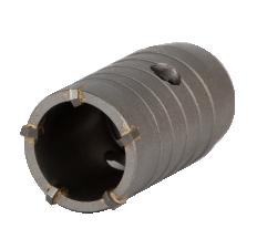 Коронка по бетону Ø40×70мм 5 зубцов (тубус) GRAD (1514035)