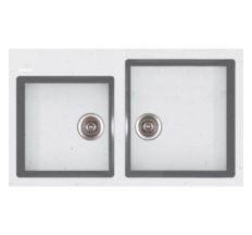 Кухонна мийка Apell Pietra Plus біла PTPL862GW